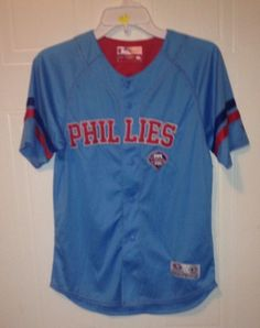 Philadelphia Phillies Youth MEDIUM Jersey.   NWOT #PhiladelphiaPhillies