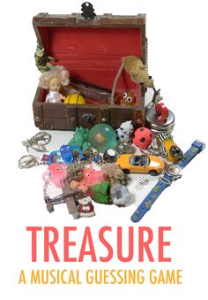 Treasure: a musical game for toddlers & kids which promotes imagination, tests your memory, builds musical confidence and is great fun too!