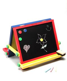 Another great find on #zulily! Melissa & Doug Tabletop Easel #zulilyfinds