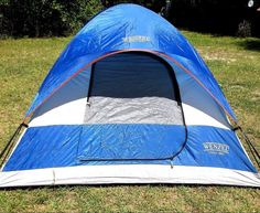 Wenzel Alpine Outdoor Camping Hiking Tent 7 X 7-Feet ~Blue 3 Person #Wenzel