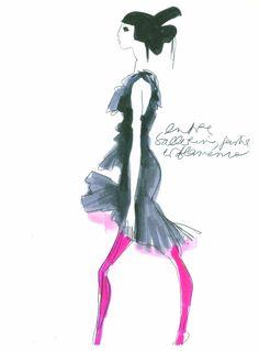 Arles : Christian Lacroix dépose 67 dessins au musée Réattu