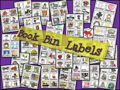 Tunstall's Teaching Tidbits: Classroom Library-TPT Book Bin Labels for ALL types of books. Classroom Library Labels, Classroom Projects, School Classroom, School Fun, Classroom Ideas, Classroom Libraries, School Stuff, School Ideas, Classroom Tools