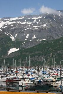 Whittier, Alaska  September 2005, bought crab legs for supper.