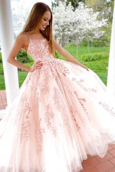 The prom dress that makes us pink ? - Pink Prom Dresses, Prom Dress Ideas The prom dress that makes us pink ? - Pink Prom Dresses, Prom Dress Ideas Source by romprom - Pink Prom Dresses, Sweet 16 Dresses, Tulle Prom Dress, Beautiful Prom Dresses, Dance Dresses, Pretty Dresses, Straps Prom Dresses, Dresses For 15, Dresses For Balls