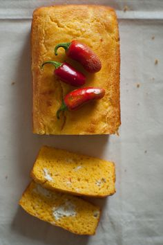 Jalapeño and Feta Cornbread.  I'm not a Feta Fan but I know those who are.  Interesting twist on cornbread.
