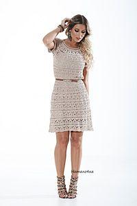 Vestidos y túnicas Crochet - recopilar colección