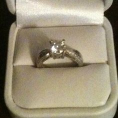 Customer's Post: Engagement Ring designed by John Ford Jewelers, Galveston, Texas.