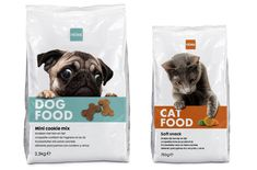 Pet food for Dutch retailer, HEMA, by the always creative, Studio Kluif