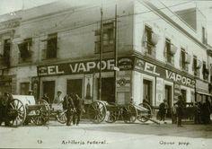 Lo que era la calle de San Juan de Letran y san Angustin, hoy Lazaro Cardenas y Uruguay