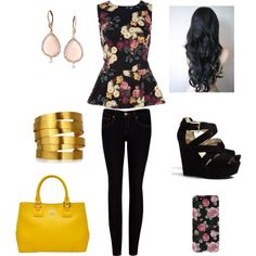 """""""First School Day After Spring Break"""" by helena-anastasia on Polyvore"""