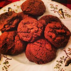 Double Dark Choclate Cookies
