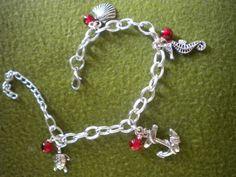 Ocean inspired charm bracelet $14