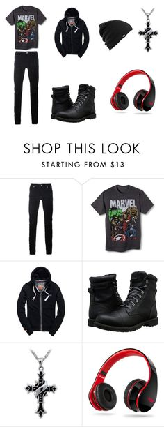 """""""85"""" by cheshirestrouble ❤ liked on Polyvore featuring Diesel Black Gold, Marvel, Superdry, Timberland, Samsung, Burton, men's fashion and menswear"""