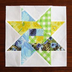 Oh, My Stars Quilt - Woven Star Block Tutorial on Thought and Found at http://thoughtandfound.wordpress.com/2012/01/22/oms10/