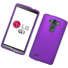 Eaglecell LG G3 Case Snap-on Hard Protector Cover - Purple