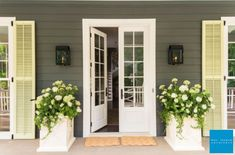 The Ultimate Swinging French Door is a double-panel French style in a beautiful wood surround. Hinged Patio Doors, French Doors Patio, French Patio, Exterior French Doors, Farmhouse Patio Doors, Fresco, Bill Ingram, Marvin Doors, Exterior Patio Doors