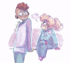 floredoodler:  i had a while of not drawing larsadie,, and I had to fix that