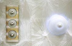 Triple poste Céliane en porcelaine et habillé par Catherine Bergen pour les Designer's Days 2007 #Ddays #Céliane #Bergen