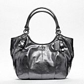"""Silver is a bit """"loud"""" but I love this bag. The blue lining is amazing and its a great size too!"""