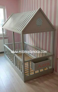 Çatısı Kapılı Montessori Yatak Kapılı Saksılıklı