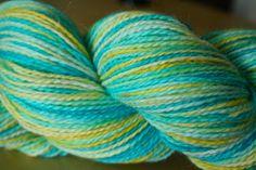 WIP: how to dye yarn with Kool-Aid