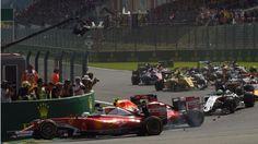 Mega-Hitze ++ Crash-Start ++ 17 Minuten Pause   Rosberg gewinnt Chaos-Rennen…