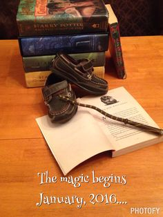 Our baby announcement !!!! Harry potter magic pregnancy !