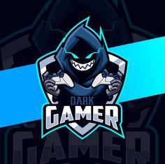 Dark gamer cloak mascot esport logo desi... | Premium Vector #Freepik #vector #logo #sport #character #smile Team Logo Design, Mascot Design, Assassin Logo, Logos Retro, Esports Logo, Great Logos, Emoji Wallpaper, Game Logo, Logo Design Inspiration