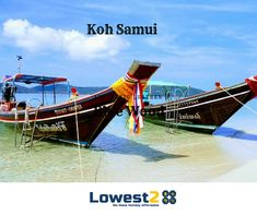 Lose yourself on the gorgeous beaches of #KohSamui and let their natural surroundings delight your senses