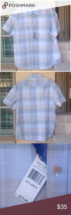 Vince Camuto Short Sleeve Button Down Shirt Vince Camuto Short Sleeve Button Down Shirt Vince Camuto Shirts Casual Button Down Shirts