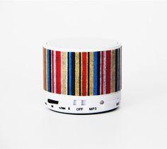 Lifestyle Stripe Wireless Bluetooth Mini Speaker – Ac.y.c Mini Bluetooth Speaker, Speakers, Lifestyle, Projects, Log Projects, Blue Prints, Loudspeaker
