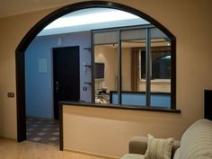 Room Partition Designs, Living Room Photos, Half Walls, False Ceiling Design, Home Renovation, Kitchen Remodel, Kitchen Design, House Plans, Decoration