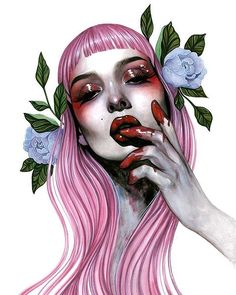 """How stunning is this print from @roseellenswenson . """"Rapacious"""" is @rhinobarkingsparrows Friday print release! . Released 10/6 @ 9am PST in a timed limited edition sales end Sunday night 10/8 at 9pm PST. via BEAUTIFUL BIZARRE MAGAZINE OFFICIAL INSTAGRAM - Celebrity Fashion Haute Couture Advertising Culture Beauty Editorial Photography Magazine Covers Supermodels Runway Models"""