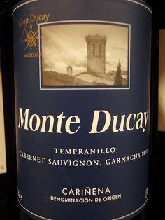 Monte Ducay. Tempranillo, Cabernet Sauvignon, Garnacha, 2009. Cariñena.