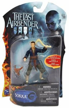 """Paramount Movie Series """"The Last Airbender"""" 4 Inch Tall Highly Articulated Action Figure - SOKKA with Boomerang and Sack by Spin Master. $6.99. For age 5 and up. Figure measured approximately 4 inch tall. Includes: SOKKA with Boomerang and Sack. Paramount Movie Series """"The Last Airbender"""" 4 Inch Tall Highly Articulated Action Figure - SOKKA with Boomerang and Sack"""