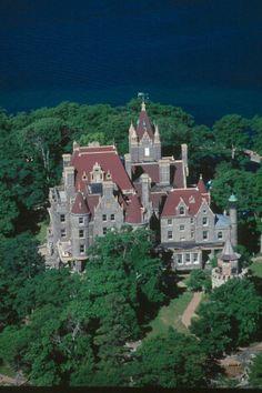 Boldt Castle in New York's Alexandria Bay  | Boldt castle