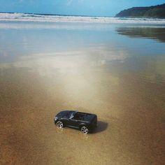 #toytrips with my black convertible at Noosa,  Australia, @yooamigo.