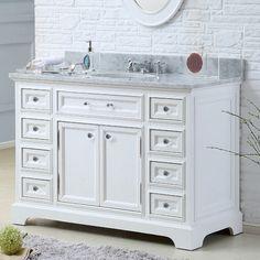 "Found it at Wayfair.ca - Colchester 48"" Single Sink Bathroom Vanity Set - White"