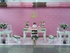 Decoração de aniversario, tema: Bonecas, fone:(62)9215-7327//3597-3590, Arlete decoradora.