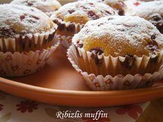 Hankka: Ribizlis muffin