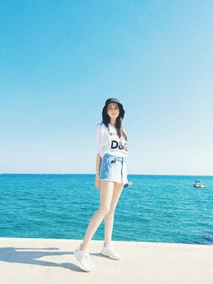 2019 popular cute fisherman hat, both sunscreen and stylish! - Page 25 of 44 - zzzzllee Look Fashion, Girl Fashion, Fashion Outfits, Ulzzang Fashion, Korean Fashion, J Pop, Foto Casual, Ulzzang Korean Girl, Chinese Actress