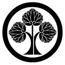 本多忠勝の家紋「立ち葵紋」 Japanese Design, Japanese Art, Japanese Family Crest, Sengoku Basara, Japanese Textiles, Crests, Cool Items, Samurai, Logos