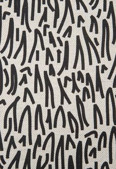 schumacher grass fabric in black
