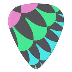 Customizable Pink/Green Lotus Pond Scale Pattern Guitar Picks on sale at www.zazzle.com/wonderart* Click on the picture to take you directly to the product for purchase and info.