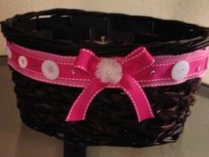 Decorated Baby girl Gift basket