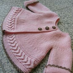 This Pin was discovered by PatFree Knitting Pattern Baby Cardigan with CablesFree baby knitting pattern set including a lace cardigan and booties.Knitting Pattern for Garter Stpooh piglet and eyore Knitting For Kids, Baby Knitting Patterns, Baby Patterns, Free Knitting, Knitting Needles, Crochet Patterns, Knit Or Crochet, Crochet For Kids, Crochet Baby