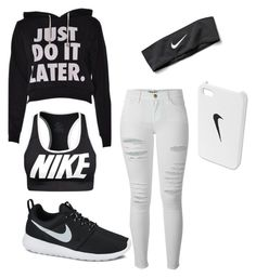 """""""Nike day"""" by hlebatard on Polyvore"""