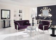 Salon baroque & moderne http://www.homelisty.com/decoration-baroque/