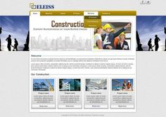 Template: a026 A striking classic web design in ochre yellow and blue accents  Recommended for: Construction, Machinery, Chemicals, General Services Photo: Template: a026 http://templates.eleiss.com/template/a026/ A striking classic web design in ochre yellow and blue accents Recommended for: Construction, Machinery, Chemicals, General Services