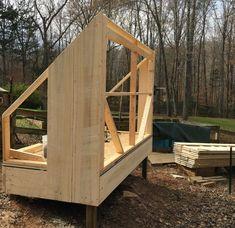 Building a solar lumber kiln - Pat's Home DIY Wood Kiln, Kiln Dried Wood, Solar Kiln, Bandsaw Mill, Floor Framing, Roof Panels, Woodworking Workshop, Diy Solar, Home Projects